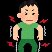 姿勢筋緊張の亢進