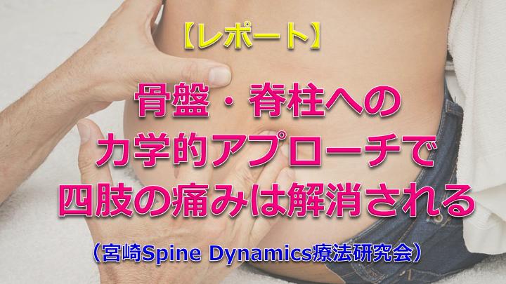 【レポート】宮崎SpineDynamics療法研究会ナイトセミナー(第2回)開催されました!